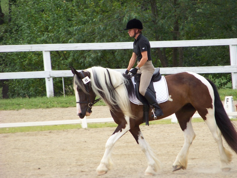 Eran/Abby HI Acres Dressage/Hunter Show 2010